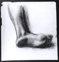 "Study for ""The Incident"", Foot, underside"