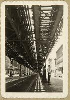 New York, 1930's (under elevated tracks)