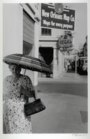 Woman with Umbrella, New Orleans