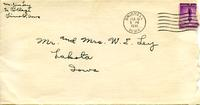 Jimmy Ley to Mr. and Mrs. W. E. Ley - February 13, 1941