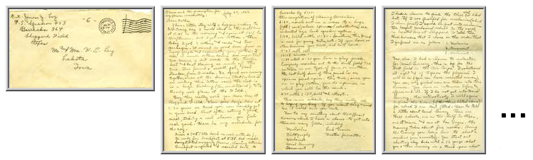 Jimmy Ley to Mr. and Mrs. W. E. Ley - July 29, 1942