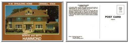H.W. Spaulding Home, Grinnell, Iowa