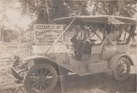 Church of Christ Delegates in Spaulding Automobile