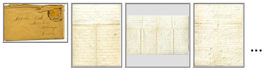 Cook, George W. to Collins Cook and Sarah E. Cook, November 8, 1857