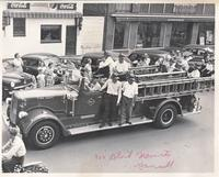 Grinnell Fire Department Engine in Parade