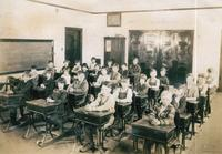 School Children at the Newburg School