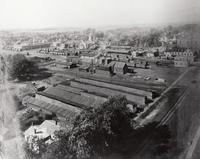 Aerial View of Downtown Grinnell