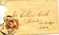 Cook, George W. to Collins Cook, March 19, 1858