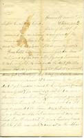 Cook, George W. to Collins Cook and Henry W. Cook, December 28, 1858
