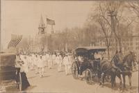 Military Parade in Grinnell circa 1915