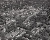 Aerial View of Grinnell in the 1960s