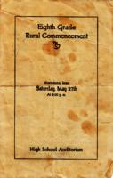 Eighth Grade Rural Commencement