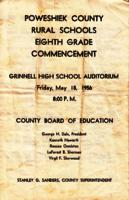 Poweshiek County Rural Schools Eighth Grade Commencement