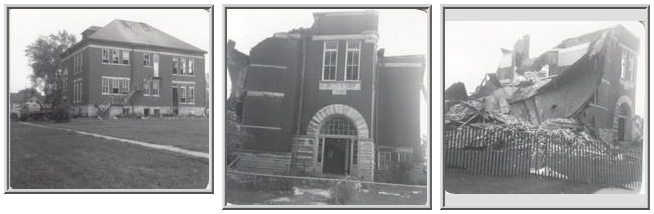 Demolition of Parker School