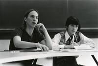 Students in Robert Gray's Political Science Seminar, April 1976