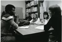 Classroom Scene with Professor Kamp, 1983