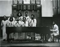 The Young, Gifted, and Black Gosepl Choir, May 1980.