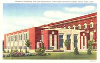 Women's swimming pool and gymnasium, Iowa State Teachers College, Cedar Falls, Iowa
