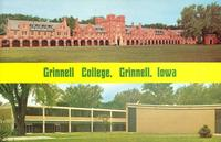 Residence halls and fine arts building, Grinnell College, Grinnell, Iowa