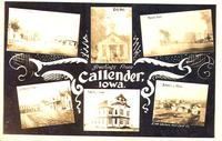 Greetings from Callender, Iowa