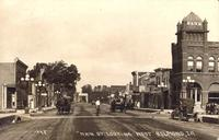 Main Street looking west, Belmond, Iowa
