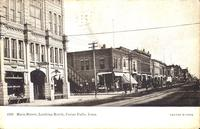 Main Street, looking north, Cedar Falls, Iowa