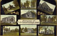 Souvenir of Grinnell College, [Grinnell], Iowa