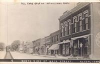 North side of Main Street, Alton, Iowa
