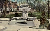 Dr. E.W. Clark Memorial, city park, Grinnell, Iowa