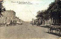 View of Chestnut St., Atlantic, Iowa