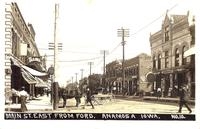 Main Street east from Ford, Anamosa, Iowa