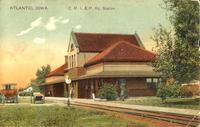 C.R.I. & P. Railway Station, Atlantic, Iowa