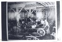Interior of Spaulding factory, Grinnell, Iowa