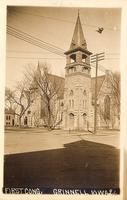 First Cong[regational Church], Grinnell, Iowa
