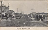 Fourth Avenue and Main Street, Grinnell, Iowa