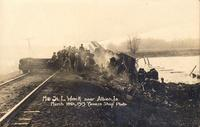 M. and St. L. train wreck, March 10, 1913, near Albion, Iowa