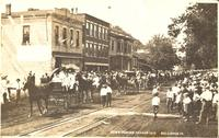 Home coming parade 1912, Bellevue, Iowa
