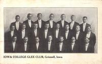 Iowa College Glee Club, Grinnell, Iowa