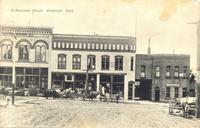Business Street, Brooklyn, Iowa