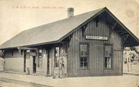 C.M. & St. P. Depot, Center Junction, Iowa