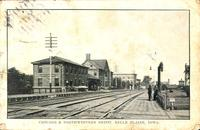 Chicago and Northwestern Depot, Belle Plaine, Iowa