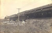 C. & N.W. Wreck, May 30, 1911, Chelsea, Iowa
