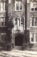 Alumni Hall Entrance, [Grinnell College], Grinnell, Iowa