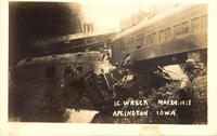 I.C. wreck, May 29, 1918, Aplington, Iowa