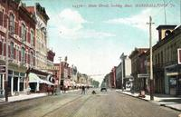 Main Street, looking east, Marshalltown, Iowa