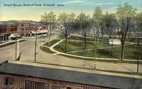Broad Street, west of [Central] Park, Grinnell, Iowa