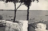 Scene from north shore, Clear Lake, Iowa