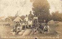 Stable Gang Troop H, 2nd U.S. Calvary, Chariton, Iowa