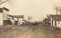 Main Street looking north, Bode, Iowa