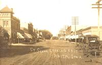 Street scene looking east, Anita, Iowa